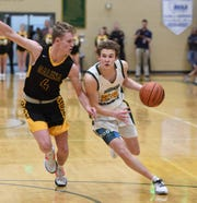 Photos of action and people at the Galena at Bishop Manogue boys basketball game on Tuesday Feb. 11, 2020.