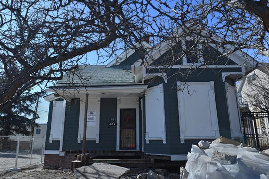 This home at 821 N. Center St. is one of three in UNR's Gateway District expected to move.