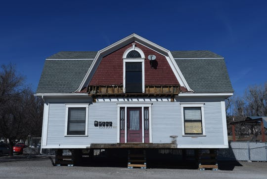 This home at 820 N. Center St. is one of of the 3 homes still yet to move in UNR's Gateway District.