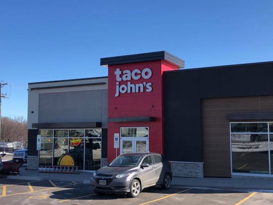 Taco John's is set to open at 26th Street and Sycamore Avenue on Feb. 24, 2020.