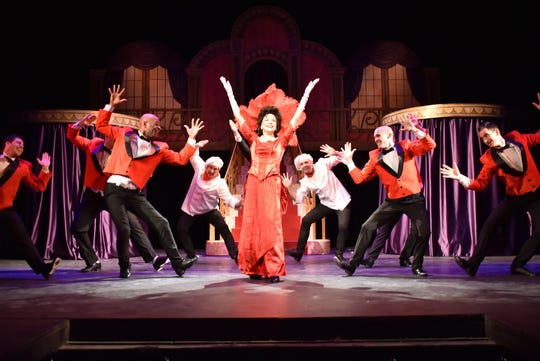 """A scene from Springfield Little Theatre's """"Hello, Dolly!"""""""
