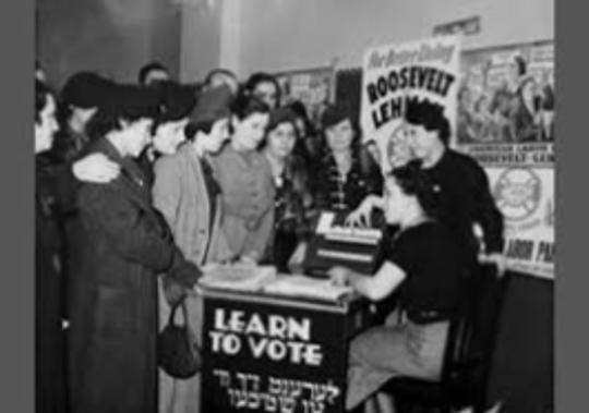 Educating women on voting