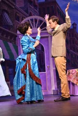 """A scene from Springfield Little Theatre's production of """"Hello, Dolly!"""" starring Kim Crosby."""