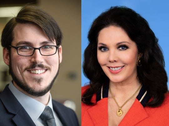 Ian Todd and Tawnja Zahradka are running for the DFL endorsement in Minnesota's Congressional District 6 in 2020.