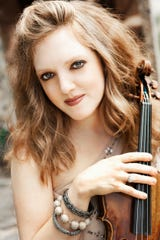 Rachel Barton Pines will perform with the Javacya Elite Chamber Orchestra Feb. 21 at St. Peter's Cathedral.