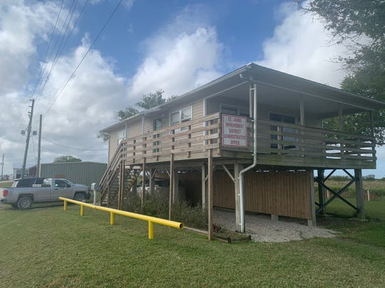 The St. Johns Improvement District Offices were at 905 122nd Ave S.W., Vero Beach, in this Feb. 10, 2020, image.
