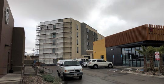 The 100-room SpringHill Suites by Marriott is going behind a Great American Steakhouse, strip shopping center, and other new retail outlets at 1300 Airway Blvd., near the El Paso airport.