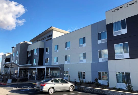 The 87-room TownePlace Suites by Marriott opened in January 2020 in a busy retail area at 4670 Woodrow Bean Trans Mountain Drive in Northeast El Paso.