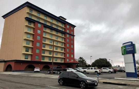 The 112-room Holiday Inn Express Hotel at Missouri Avenue and Kansas Street in Downtown El Paso.
