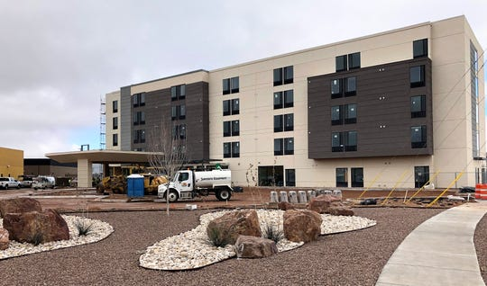 The $13 million, 100-room SpringHill Suites by Marriott is scheduled to open in June in a new retail development at 1300 Airway Blvd., near the El Paso Airport.