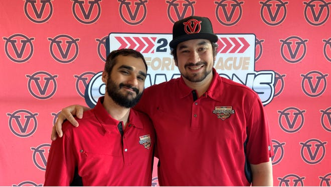 Mike Candela and Julian Rifkind are the new co-general managers of the Visalia Rawhide.