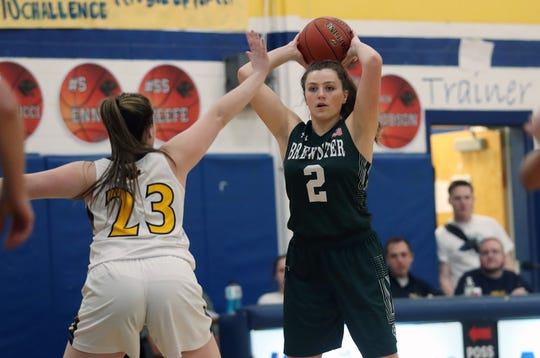 Walter Panas defeated Brewster 65-56 in girls basketball action at Walter Panas High School in Cortlandt Feb. 12, 2020.