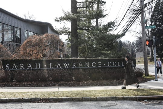 BRONXVILLE, NY - FEBRUARY 12: An exterior view of Sarah Lawrence College is seen on February 12, 2020 in Bronxville, New York. Lawrence Ray, the father of a former student at the school, has been indicted on extortion, sex trafficking and other charges related to his alleged abuse of several students.