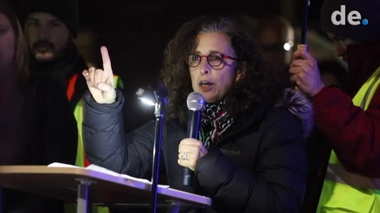 Leadership of Academia Antonia Alonso wants more board members at Odyssey Charter to step down as community rallies for school targeted by neighbor's insensitive remarks.
