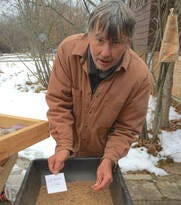 Stephen Packard of Illinois, supports culture of conservation through seed collecting efforts.