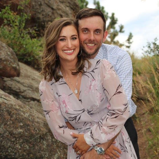 McKenzie Griffin and Dustin Wallis aren't going out on Valentine's Day, partly because they have a wedding coming up.