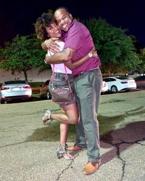 Shavon Marbory and her fiance Sedric are cutting back on Valentine's Day.