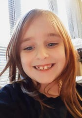 Faye Marie Swetlik, 6, went missing after she got  off a school bus near her home in South Carolina.