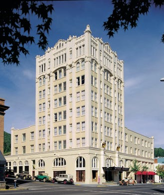 """<strong><a href=""""https://www.historichotels.org/hotels-resorts/ashland-springs-hotel"""">Ashland Springs Hotel </a></strong>(1925) &bull; Ashland, Oregon &bull; The Ashland Springs Hotel&rsquo;s English Garden with its cobblestone ground, complete with sundial, fountain, custom-designed wrought-iron gazebo and trellises is the perfect intimate spot for those looking to propose. Ornamental garden planters spill out flowers all spring and summer. Garden tables, chairs and decorative lighting invite you to enjoy this lovely outdoor setting. Another romantic and intimate spot is the Crystal Room, named for the original crystal chandelier, an exquisite 6-foot-wide crystal-laden piece that crowns the soaring ceilings of the room. The room also features grand windows, ornate wooden wainscoting and lanterns that cast a star-lit ambience."""