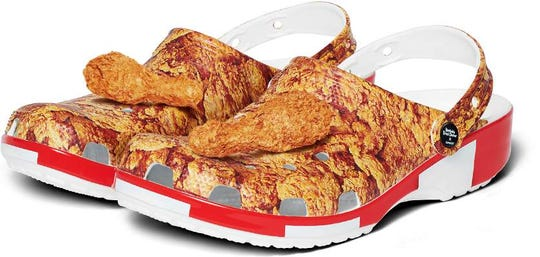 Fried Chicken x Crocs