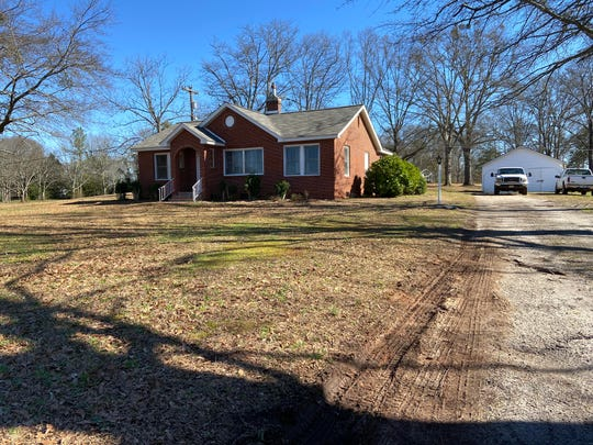A 2-year-old girl was found dead at this home on Centerville Road late Thursday night, according to authorities and arrest warrants.