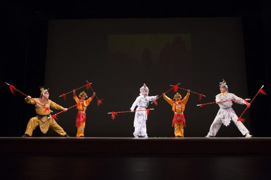 The Confucius Institute of Chinees Opera will give a performance at Saturday's Binghamton University Day at the Oakdale Mall.