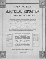 An advertisement for the Electrical Exposition in 1926.