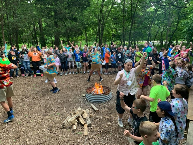 Each summer, Crawford County youth travel to Kelleys Island county 4-H camp