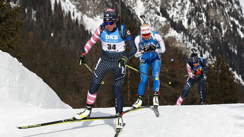 Vermont's Susan Dunklee captures silver at world biathlon championships
