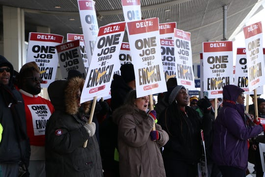 Unite Here represents nearly 20,000 airline workers, 7,000 in Metro Detroit.