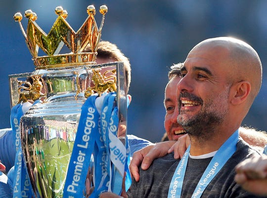 Manchester City has been banned UEFA Champions League play for two years, which could affect the tenure of manager Pep Guardiola whose contract expires at the end of this season.