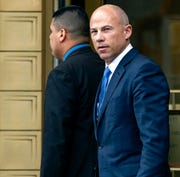 In this July 23, 2019, file photo, California attorney Michael Avenatti walks from a courthouse in New York.