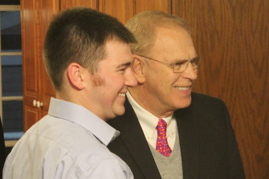 Former Ohio Gov. Ted Strickland appeared at a fundraiser Thursday for Ohio House District 88 candidate Chris Liebold. Liebold, a Fremont City Councilman, is running unopposed in the Democratic primary for the House seat, which covers most of Seneca and all of Sandusky County. The 88th District seat will be vacated by Rep. Bill Reineke, R-Tiffin, at the end of 2020.