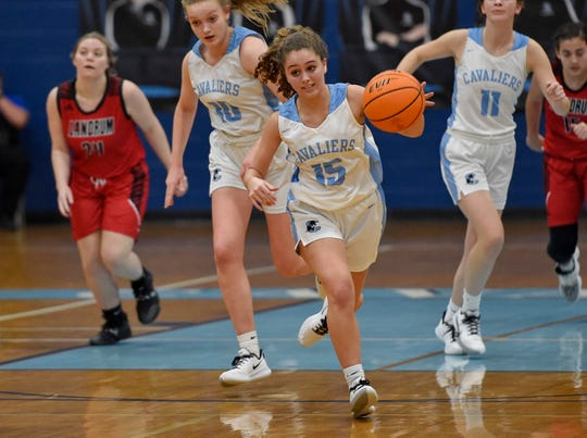 Christ Church hosted Landrum in varsity basketball Thursday, Feb. 13, 2020.