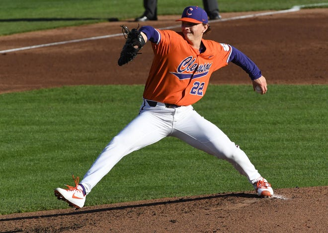Howell graduate Sam Weatherly, a junior pitcher at Clemson, is the 85th-ranked prospect heading into the Major League Baseball draft.