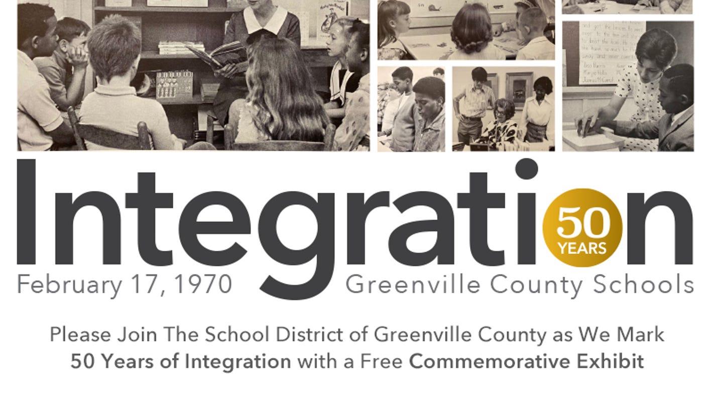 Greenville County Schools exhibit to commemorate 50th anniversary of desegregation