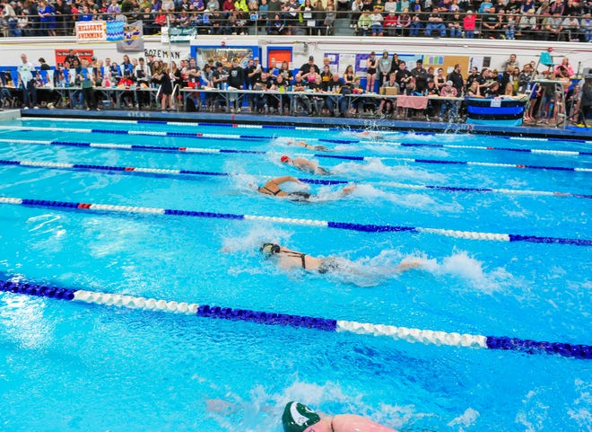 2020 Montana High School Association State Swim Meet at Great Falls High, February 14-15.