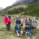 The Boy Scouts of Troop 1 take a break during a weekend backpack trip to Volcano Reef in the Flathead National Forest. Mikel is back row, second from left.