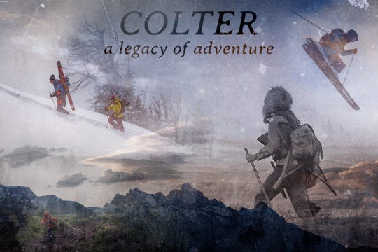 Filmmaker and skier Sawyer Thomas follows the path of frontier explorer John Colter in Colter: A Legacy of Adventure