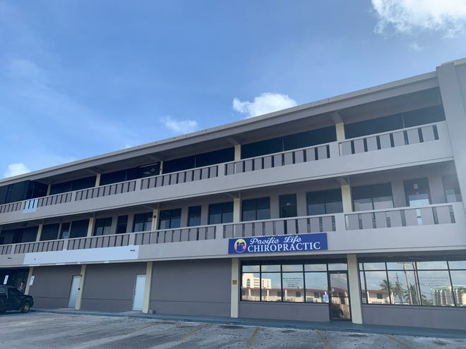 The Ran-Care Building in Tamuning, shown in this Feb. 6 file photo, will house several Department of Public Health and Social Services offices including the Office of Vital Statistics.