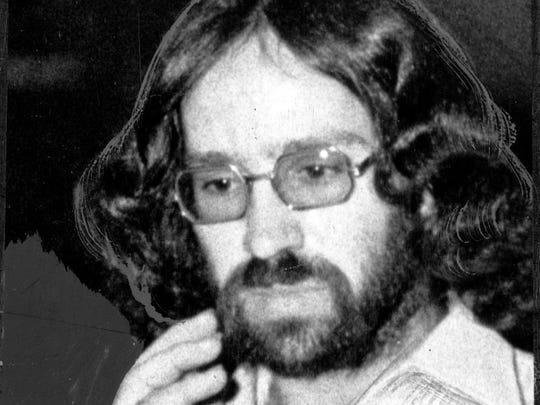 Indiana State Police arrested Roger Drollinger, 24, of Waynetown, Ind., on April 11, 1977.