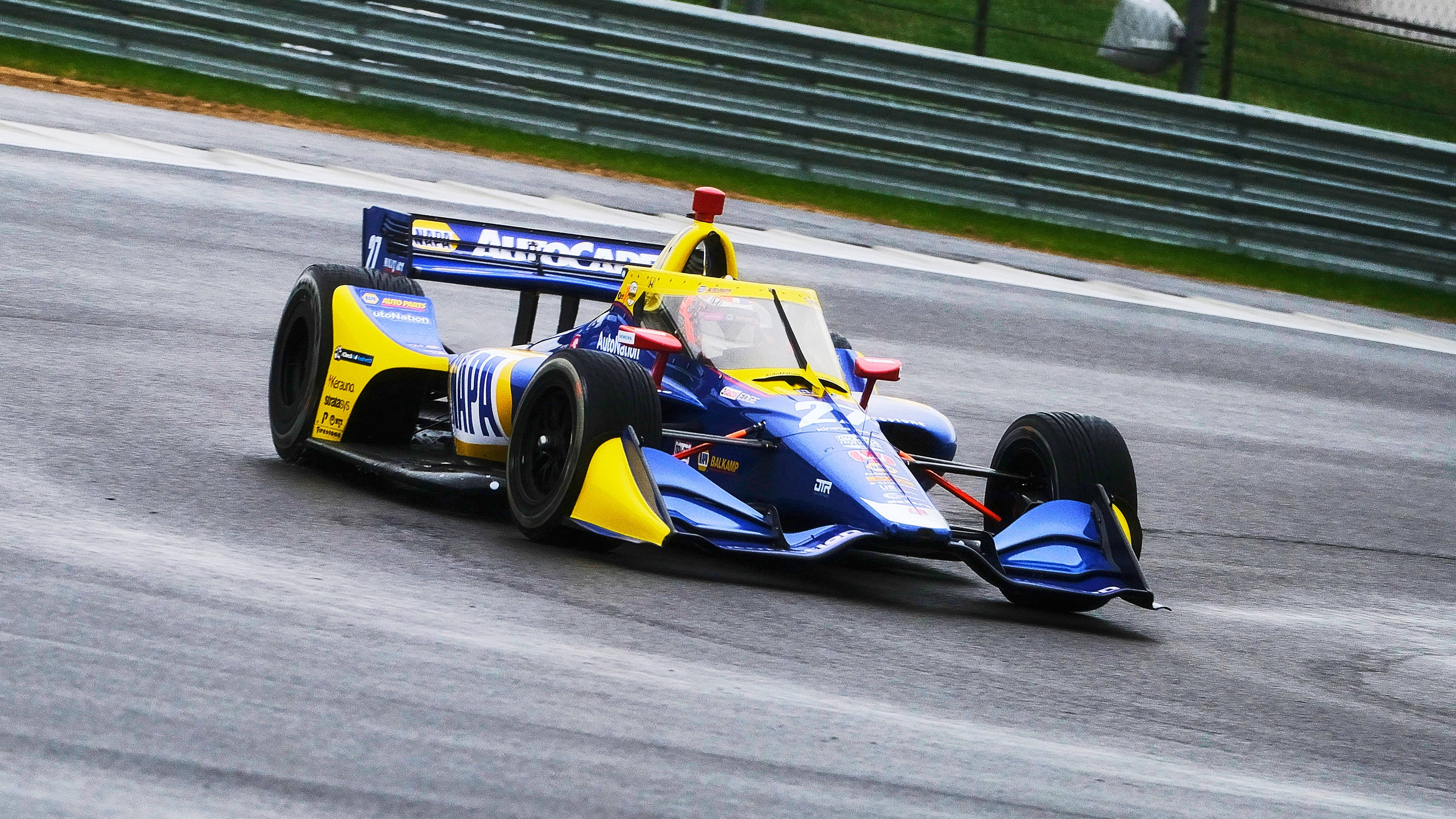 IndyCar liveries: See paint schemes for each driver's car