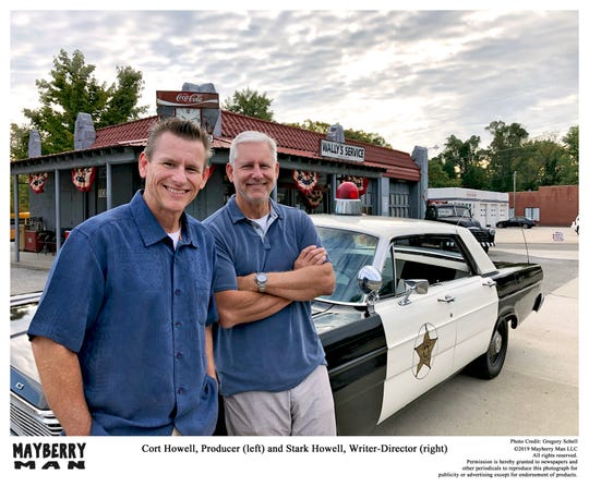 "Brothers Cort and Stark Howell, sons of actor Hoke Howell, are producing and writing ""Mayberry Man."""