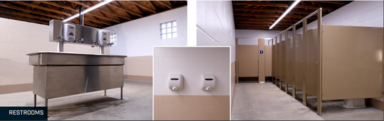 Indianapolis Motor Speedway is upgrading 125 of its 160-plus bathrooms.