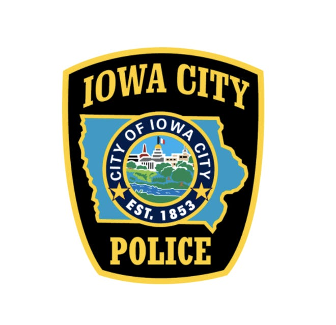 Iowa City police logo.