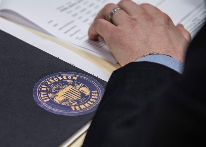 Jackson city council budget  Jackson City Hall in Jackson, Tenn., Tuesday, Feb. 11, 2020.