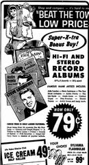 An ad ran in the January 25, 1965 Lancaster Eagle-Gazette