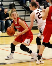 Fairfield Christian Academy's Hope Custer is averaging 24.7 points per game this season and has scored 1,607 career points. She is closing on the school's career points record of 1,661.