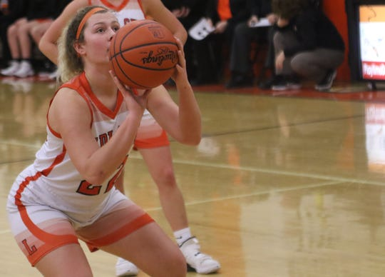 Lucas' Jessie Grover was named the 2019-20 Mid-Buckeye Conference Player of the Year.