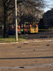 Two were killed following a deadly wreck in Midtown before sunrise on Friday.